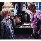 Carol Burnett and Aileen Quinn in Annie (1982)