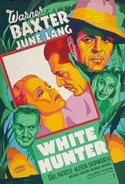 White Hunter Poster