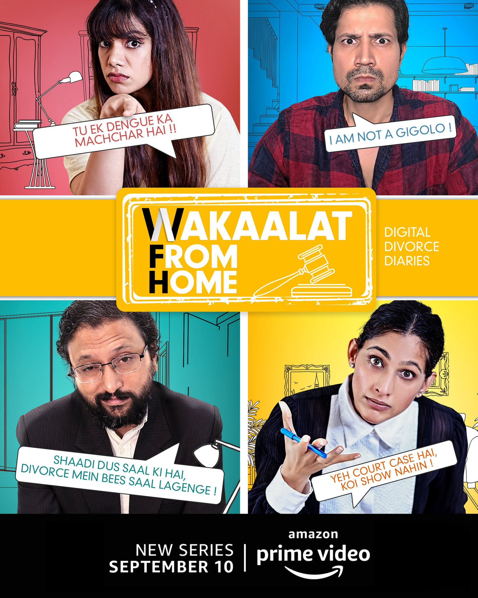 Wakaalat from Home (2020) Hindi S01 Complete Web Series 1080p Download