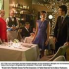 Jean Brassard, Shailene Woodley, Allegra Carpenter, and Ansel Elgort in The Fault in Our Stars (2014)