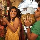 Konkona Sen Sharma and Ranbir Kapoor in Wake Up Sid (2009)