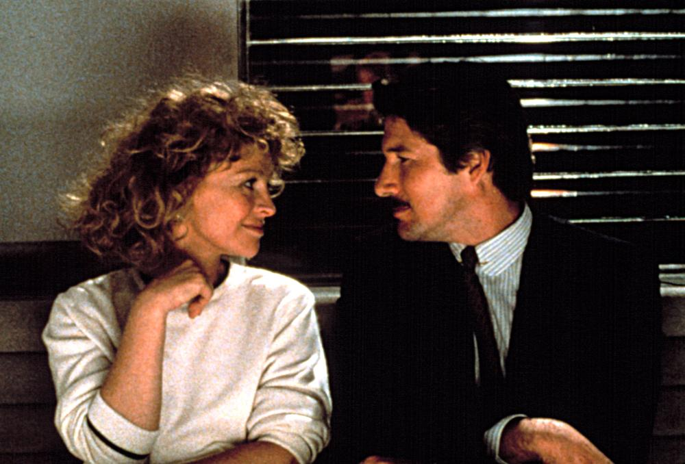Richard Gere and Julie Christie in Power (1986)
