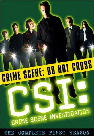 Marg Helgenberger, Paul Guilfoyle, Gary Dourdan, George Eads, Jorja Fox, and William Petersen in CSI: Crime Scene Investigation (2000)