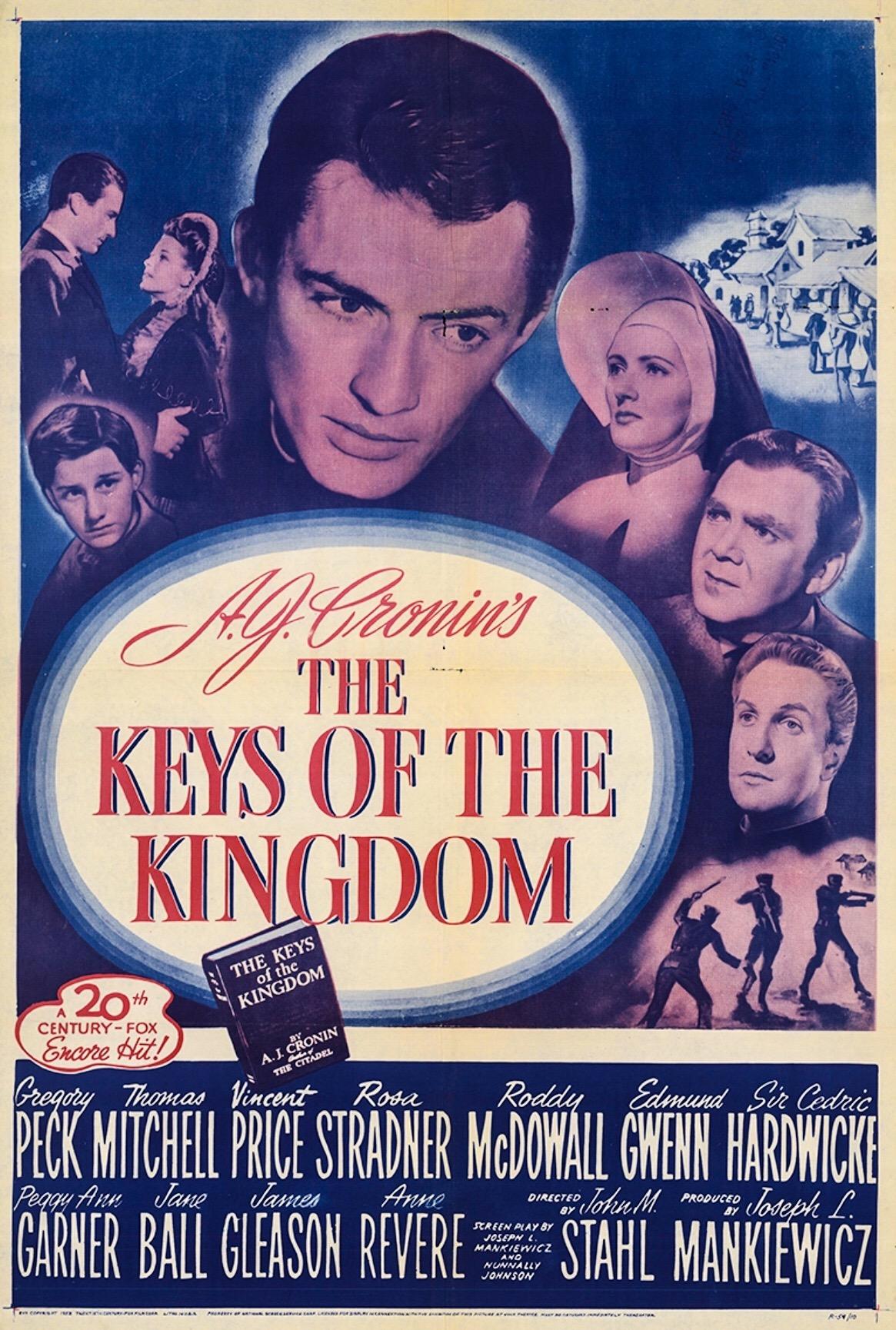 The Keys Of The Kingdom 1944 Imdb