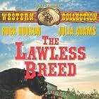 Rock Hudson, Lee Van Cleef, and Julie Adams in The Lawless Breed (1952)