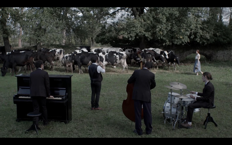 Miriam Galanti, Leonardo Pazzagli, Nicolas Zappa, Ellia de Benedictis, and Simone Massarut in Rock My Trumpet (2017)