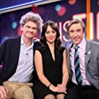 Steve Coogan, Simon Farnaby, and Susannah Fielding in This Time with Alan Partridge (2019)