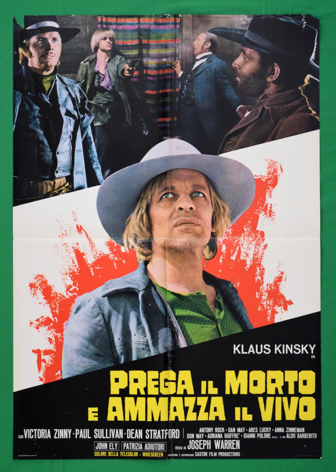 Klaus Kinski in Prega il morto e ammazza il vivo (1971)