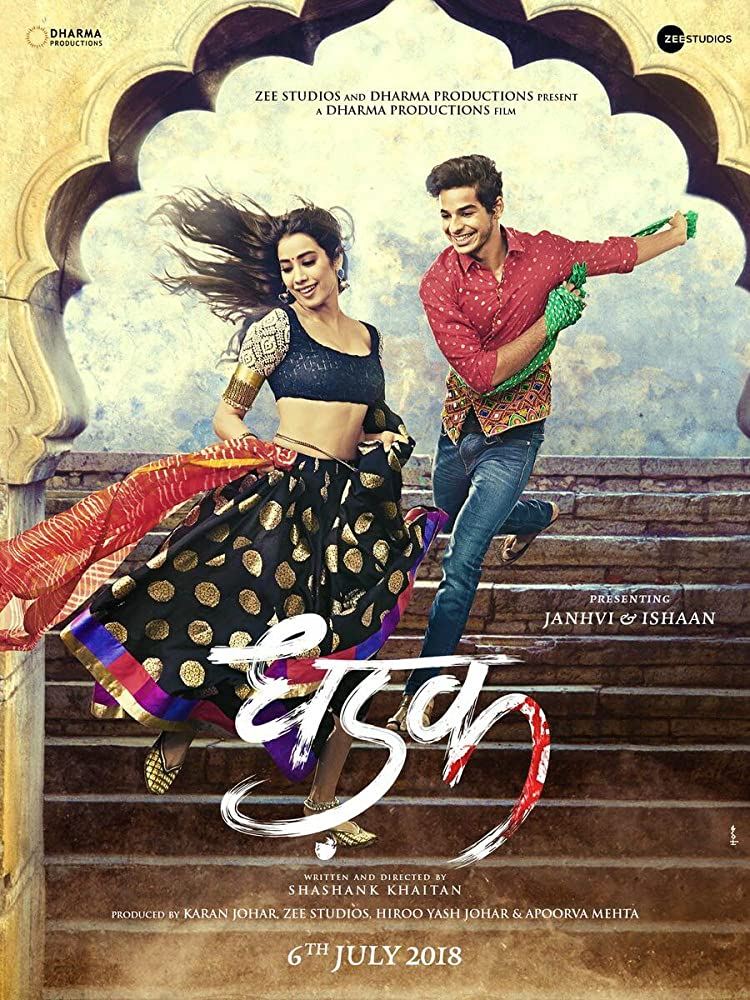Dhadak (2018) Hindi 720p HQ Pre-DVDRip x264 1.3GB