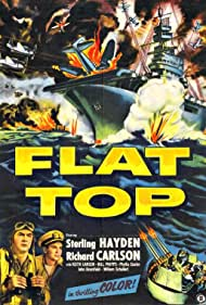 Sterling Hayden and Richard Carlson in Flat Top (1952)