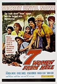 7 Women from Hell Poster