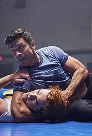 Mark Consuelos and K.J. Apa in Riverdale (2017)