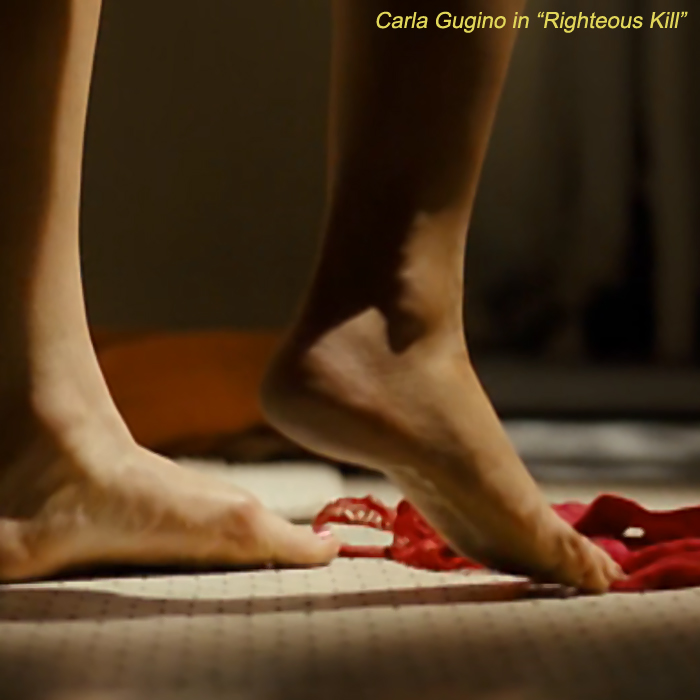 Carla gugino feet