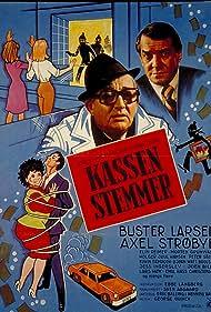 Buster Larsen and Axel Strøbye in Kassen stemmer (1976)
