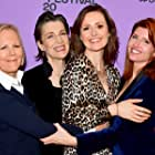 Harriet Walter, Sharon Horgan, Phyllida Lloyd, and Clare Dunne at an event for Herself (2020)
