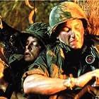 Michael J. Fox and Sean Penn in Casualties of War (1989)