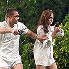 Brad Pitt and Angelina Jolie in Mr. & Mrs. Smith (2005)