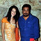 Anurag Kashyap and Kalki Koechlin at an event for Bombay Talkies (2013)