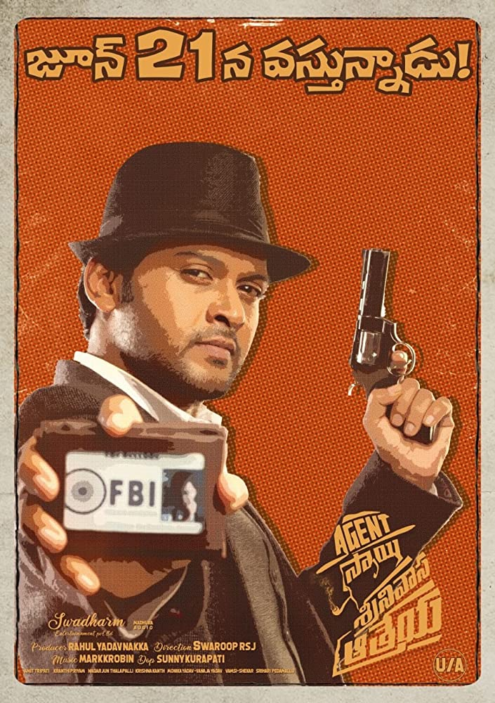 Agent Sai Srinivasa Athreya 2019 Telugu 400MB HDRip ESub Download