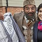 Matthew Cottle, Adil Ray, and Sayeeda Warsi in Citizen Khan (2012)