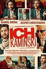Daniel Brühl and Jesper Christensen in Ich und Kaminski (2015)