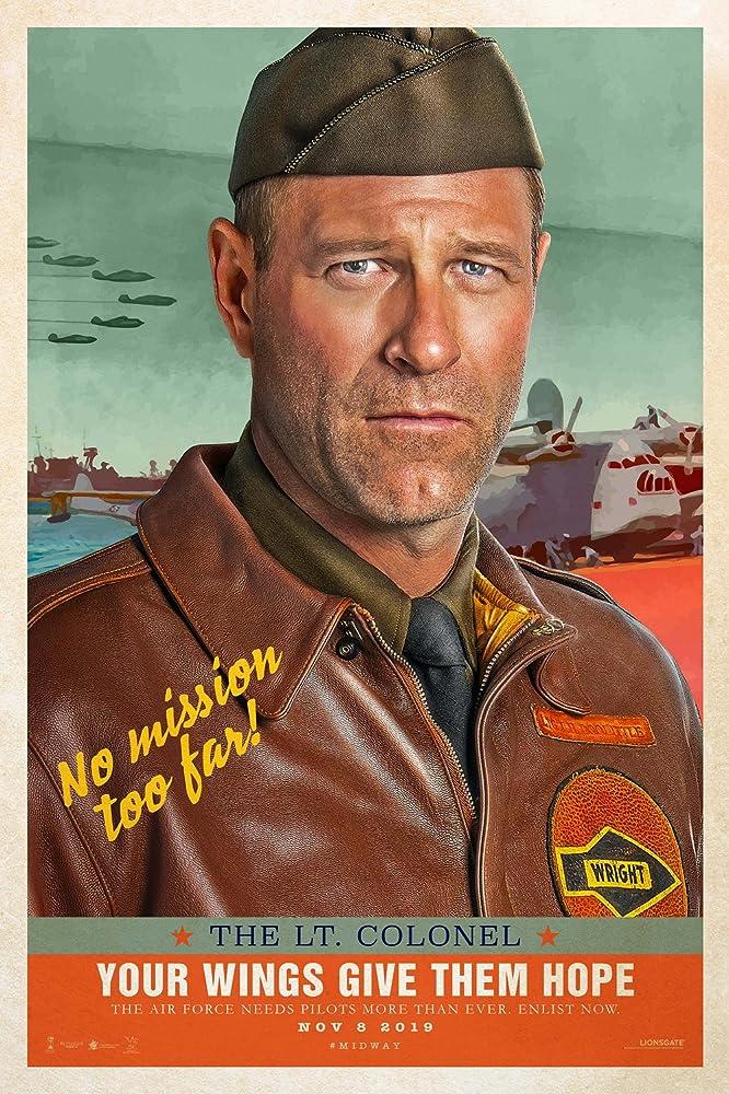 Aaron Eckhart in Midway (2019)