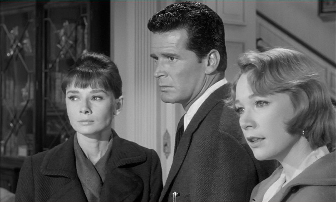 Audrey Hepburn, Shirley MacLaine, and James Garner in The Children's Hour (1961)