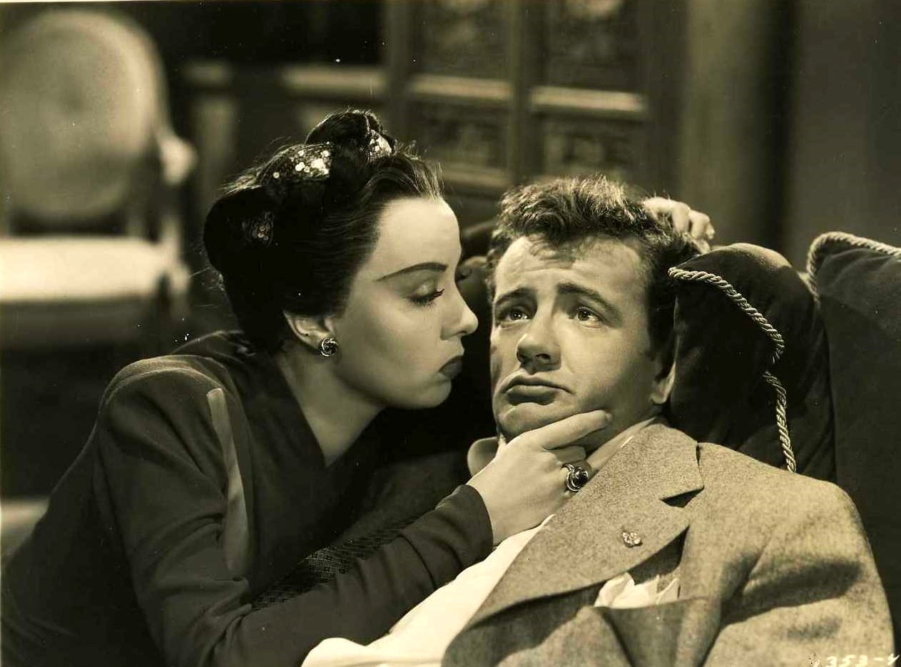 Audrey Totter and Robert Walker in The Sailor Takes a Wife (1945)