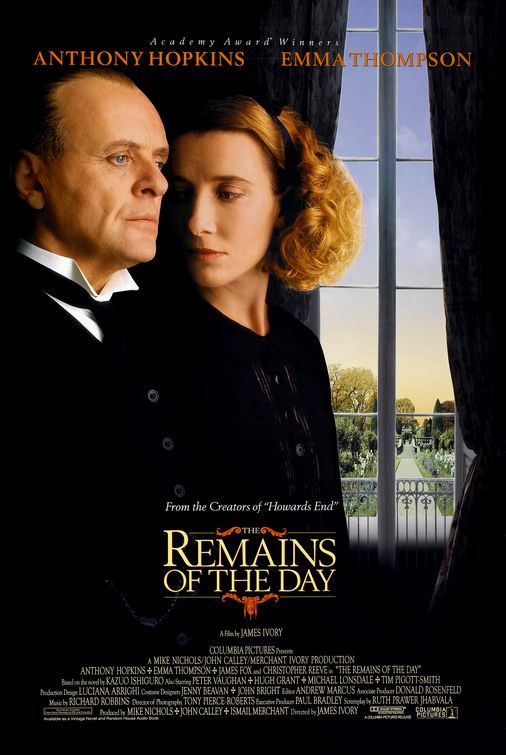 Remains of the Day poster