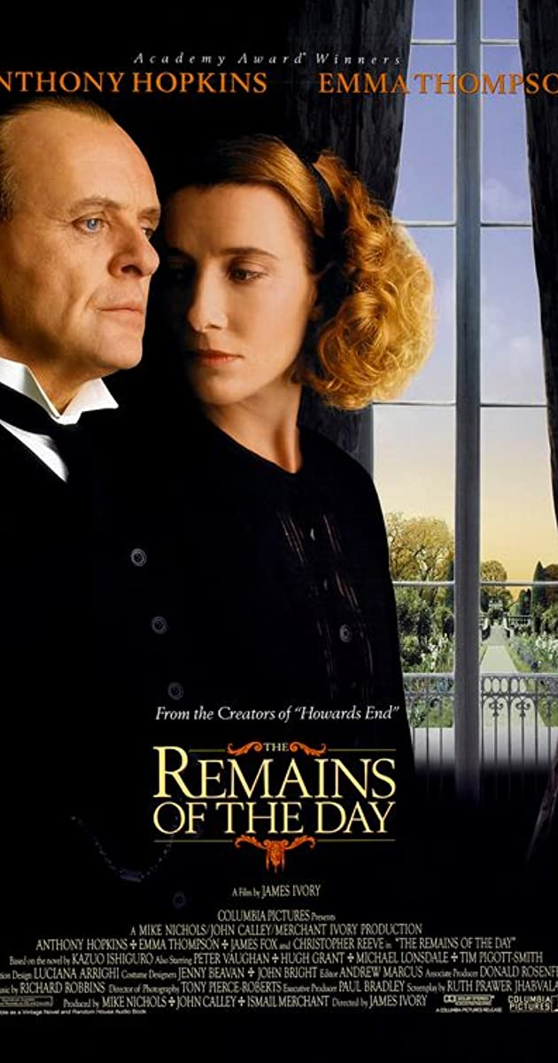 Play or Watch Movies for free The Remains of the Day (1993)