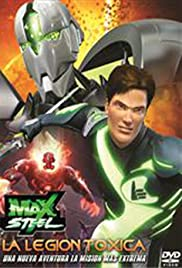 Max Steel vs The Toxic Legion Poster
