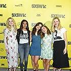 Regina Hall, AJ Michalka, Brooklyn Decker, Dylan Gelula, and Haley Lu Richardson at an event for Support the Girls (2018)