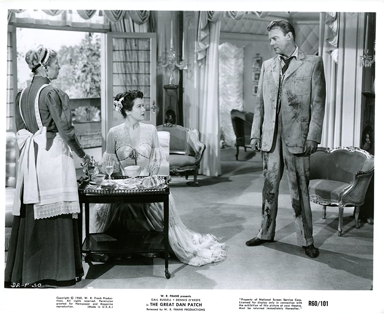 Dennis O'Keefe and Gail Russell in The Great Dan Patch (1949)