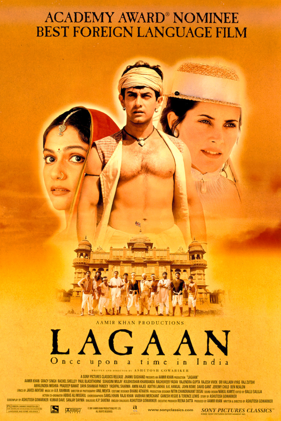 LAGAAN ARBA KARTĄ INDIJOJE (2001) / LAGAAN: ONCE UPON A TIME IN INDIA