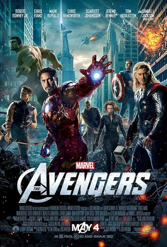 The Avengers (2012) 720p BDRip [Tamil+Telugu + Hindi+Eng] x264-1.2GB-ESubs