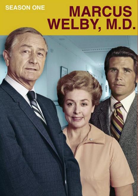 James Brolin, Robert Young, and Elena Verdugo in Marcus Welby, M.D. (1969)