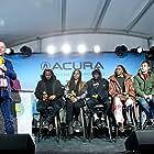 Sanaa Lathan, Suzan-Lori Parks, Col Needham, Nick Robinson, Rashid Johnson, Ashton Sanders, and KiKi Layne at an event for The IMDb Studio at Sundance (2015)