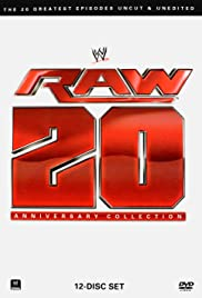 WWE: Raw 20th Anniversary Collection Poster