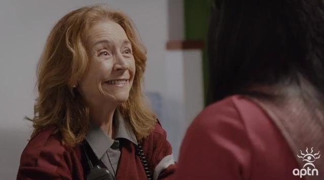 Christine Mercier in Première Ligne (2018)
