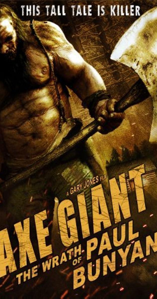 Subtitle of Axe Giant: The Wrath of Paul Bunyan