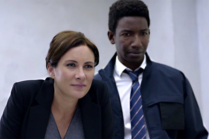 Laura Benanti and Mamoudou Athie in The Detour (2016)