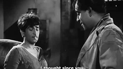 Raju lives as a derelict as a result of being estranged from his bitter father, a district judge, who threw Raju's mother out of the house years ago. Raju shacks up with a Dacoit (pickpocket bandit) as his surrogate father only to realize that the man is actually responsible for the original misunderstanding between his parents. Raju kills him, and then tries killing his father, but fails, is arrested, and is taken to court right before his very own father, who presides there as the Judge. Raju has his childhood girlfriend as his legal representative, and the onus is now on his father, who must pass judgment without showing any personal sentiment.