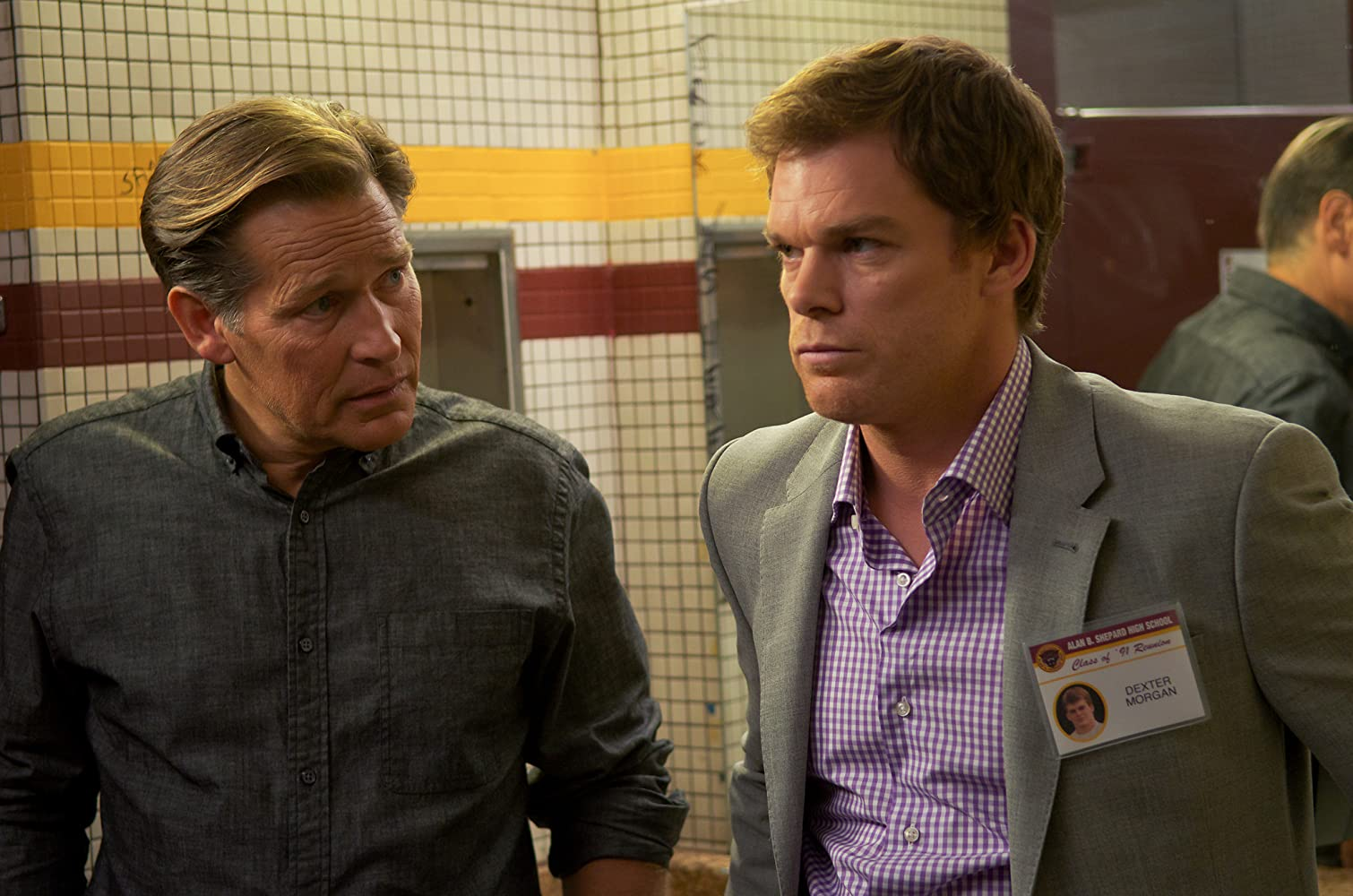 James Remar and Michael C Hall in Dexter 2006