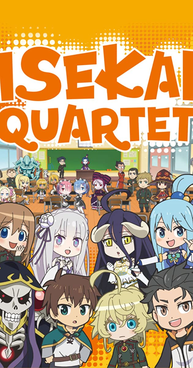 Download Isekai Quartet or watch streaming online complete episodes of  Season 2 in HD 720p 1080p using torrent