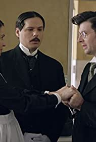 Michael Ian Black, Beth Dover, and Moshe Kasher in Another Period (2013)