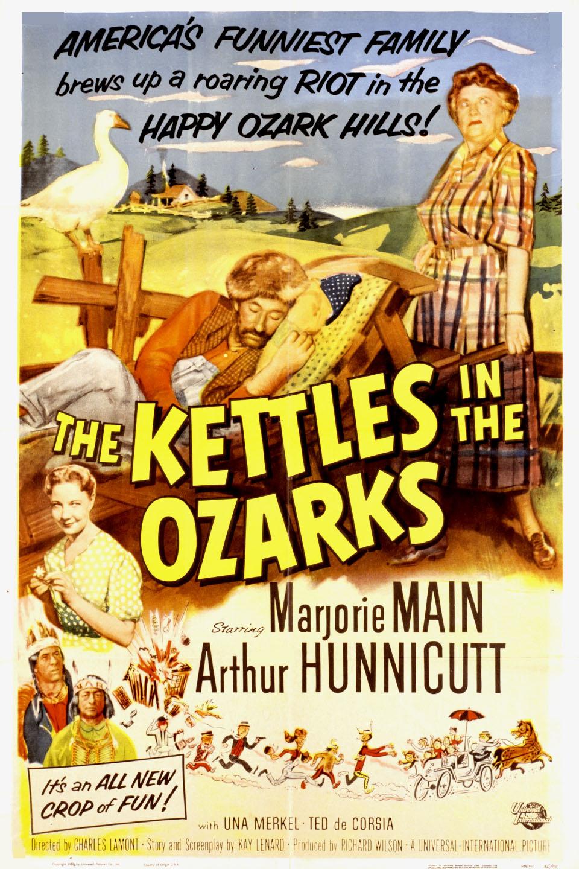 Arthur Hunnicutt, Marjorie Main, and Una Merkel in The Kettles in the Ozarks (1956)