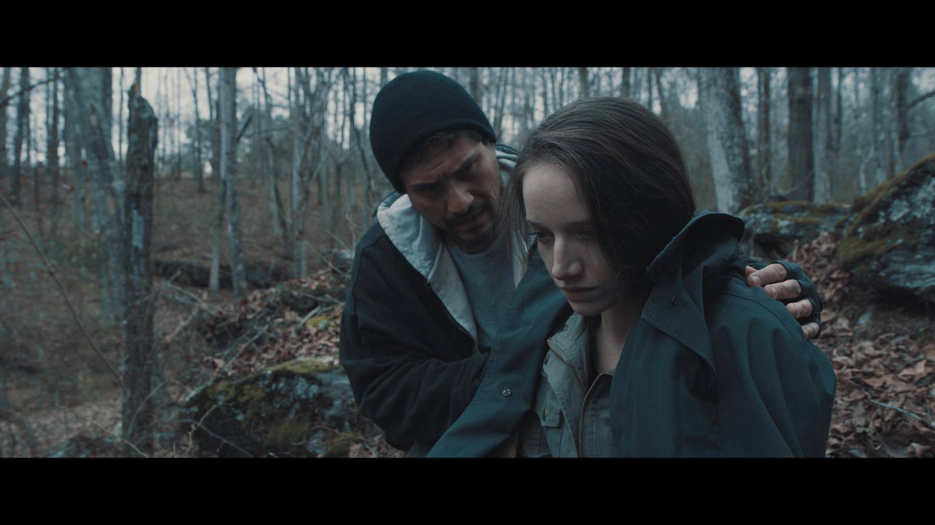 Demi Castro with Rachel Comeau in Testament (2017).