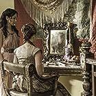Sibel Kekilli and Sophie Turner in Game of Thrones (2011)