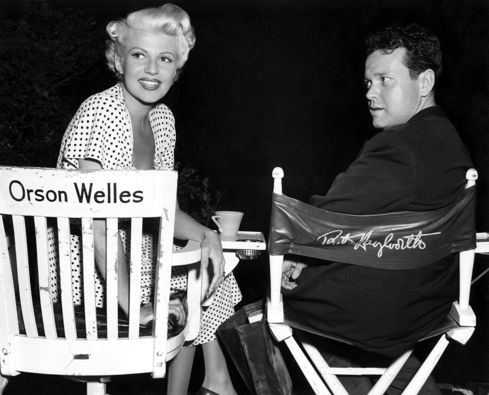 Rita Hayworth and Orson Welles in The Lady from Shanghai (1947)