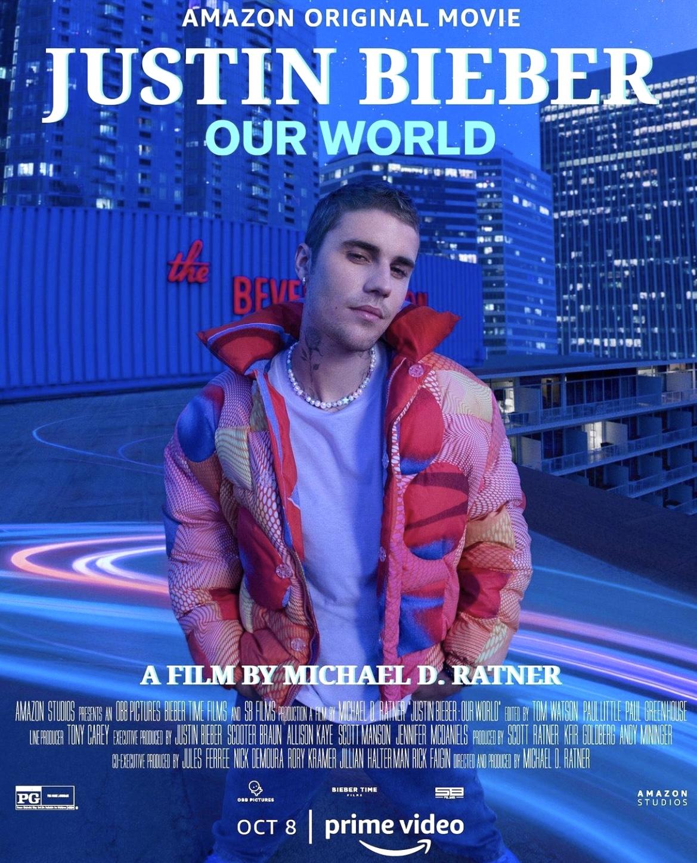 Download pelo celular Justin Bieber Our World Qualidade boa